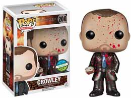 SUPERNATURAL FUNKO POP CROWLEY METALLIC EXCLU