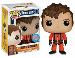 DOCTOR WHO POP 10TH DOCTOR SPACESUIT NYCC 2015 EXCLU