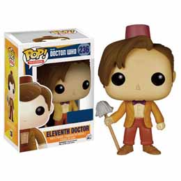 DOCTOR WHO POP 11TH DOCTOR FEZ & MOP EXCLUSIVE