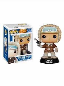 STAR WARS POP HAN SOLO HOTH FIGURINE FUNKO EXCLU