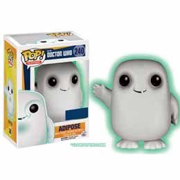 DOCTOR WHO POP 11TH ADIPOSE GLOW IN THE DARK EXCLU