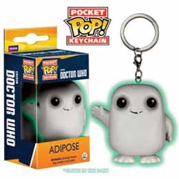 DOCTOR WHO POCKET POP PORTE CLE ADIPOSE GLOW IN THE DARK EXCLU