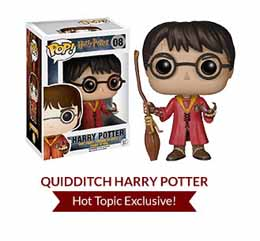 HARRY POTTER POP HARRY POTTER QUIDDITCH EXCLU
