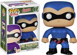 FUNKO POP HEROES PHANTOM FIGURINE COSTUME BLEU