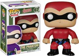 FUNKO POP HEROES PHANTOM FIGURINE COSTUME ROUGE