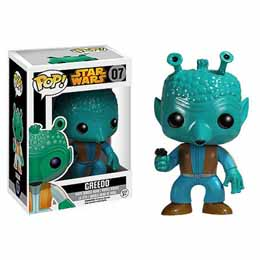 STAR WARS POP BLACK BOX GREEDO FIGURINE FUNKO