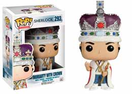 SHERLOCK FUNKO POP MORIARTY WITH CROWN
