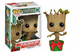 MARVEL FUNKO POP GUARDIANS OF THE GALAXY BABY GROOT HOLIDAY