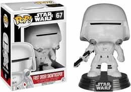 FUNKO POP STAR WARS EPISODE 7 FIRST ORDER SNOWTROOPER