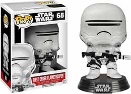 FUNKO POP STAR WARS EPISODE 7 FIRST ORDER FLAMETROOPER