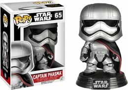 FUNKO POP STAR WARS EPISODE 7 CAPTAIN PHASMA