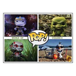 LIVRE WORLD OF POP! VOLUME 4 FUNKO