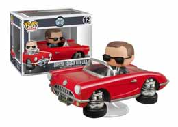 MARVEL POP AVENGERS S.H.I.E.L.D POP RIDES DIRECTOR COULSON AND LOLA