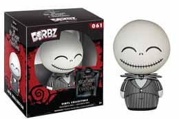 DISNEY NIGHT BEFORE CHRISTMAS DORBZ FIGURE JACK SKELLINGTON