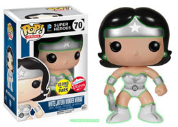 FUNKO POP WHITE LANTERN WONDER WOMAN GLOW IN THE DARK