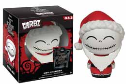 DISNEY NIGHT BEFORE CHRISTMAS DORBZ FIGURE JACK SANTA