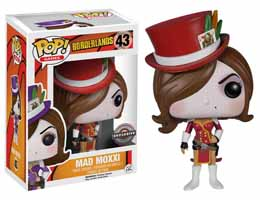 BORDERLANDS FUNKO POP MAD MOXXI EXCLU RED OUTFIT