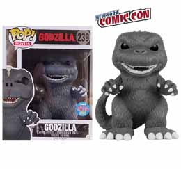 Funko Pop Godzilla Black & White Exclusive