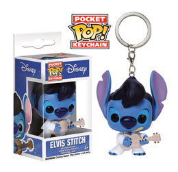 Photo du produit PORTE CLE ELVIS STITCH POCKET POP!