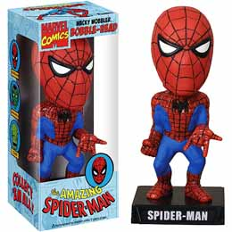 AMAZING SPIDERMAN CLASSIC BOBBLE HEAD FUNKO 18 CM