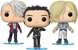 ENSEMBLE DE 3 FUNKO POP YURI ON ICE