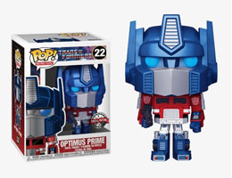 FUNKO POP TRANSFORMERS OPTIMUS PRIME METALLIC EXCLUSIVE