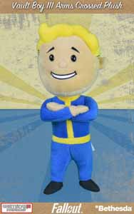 FALLOUT 4 PELUCHE VAULT BOY 111 ARMS CROSSED