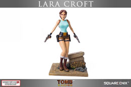 Photo du produit TOMB RAIDER STATUETTE 1/6 20TH ANNIVERSARY SERIES LARA CROFT REGULAR VERSION 36 CM