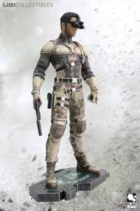 SPLINTER CELL BLACKLIST SAM FISHER PVC STATUE 24CM
