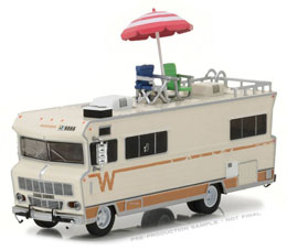WALKING DEAD 1/64 1973 WINNEBAGO CHIEFTAIN DE DALE 1/64 METAL