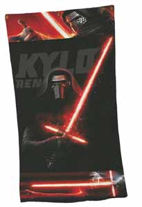 SERVIETTE DE BAIN STAR WARS EPISODE VII KYLO REN