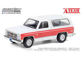 A-TEAM 1983 GMC JIMMY 1/64 MÉTAL