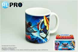 MUG GOLDORAK ET GRAND STRATEGUERRE CERAMIQUE