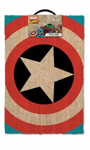 PAILLASSON MARVEL COMICS CAPTAIN AMERICA SHIELD