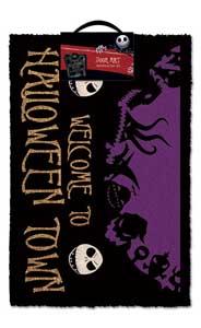 PAILLASSON L´ETRANGE NOEL DE MR. JACK HALLOWEEN TOWN 40 X 60 CM