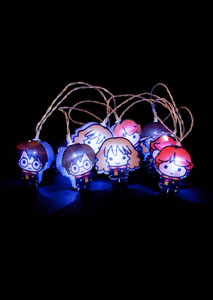 HARRY POTTER GUIRLANDE LUMINEUSE 2D KAWAII CHARACTERS