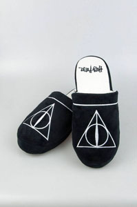CHAUSSONS HARRY POTTER DEATHLY HALLOWS