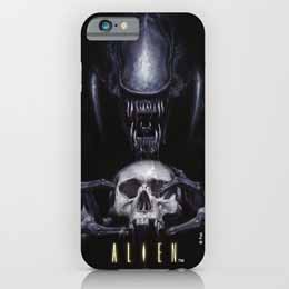 ALIEN COQUE IPHONE 6 SKULL