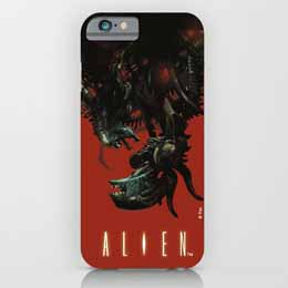 ALIEN COQUE IPHONE 6 PLUS XENOMORPH UPSIDE-DOWN