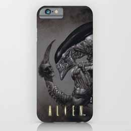 ALIEN COQUE IPHONE 4 DEAD HEAD