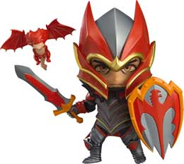 DOTA 2 FIGURINE NENDOROID DRAGON KNIGHT 10 CM