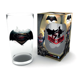 BATMAN V SUPERMAN VERRE LOGO