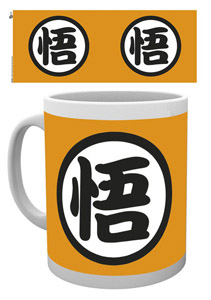 DRAGON BALL Z MUG GOKU KANJI