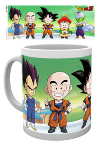 DRAGON BALL Z MUG CHIBI