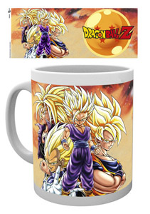 DRAGON BALL Z MUG SUPER SAIYANS