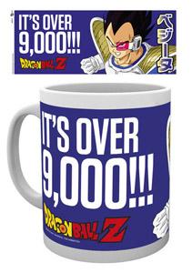 MUG DRAGON BALL Z IT S OVER 9000