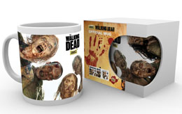 MUG WALKING DEAD ZOMBIE CIRCLE HEO EXCLUSIVE