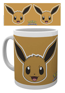 POKEMON MUG EVOLI FACE