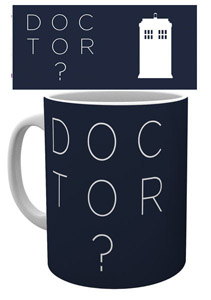 DOCTOR WHO MUG DOCTOR WHO TYPE