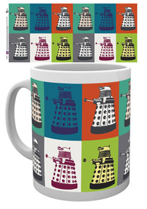 DOCTOR WHO MUG POP ART